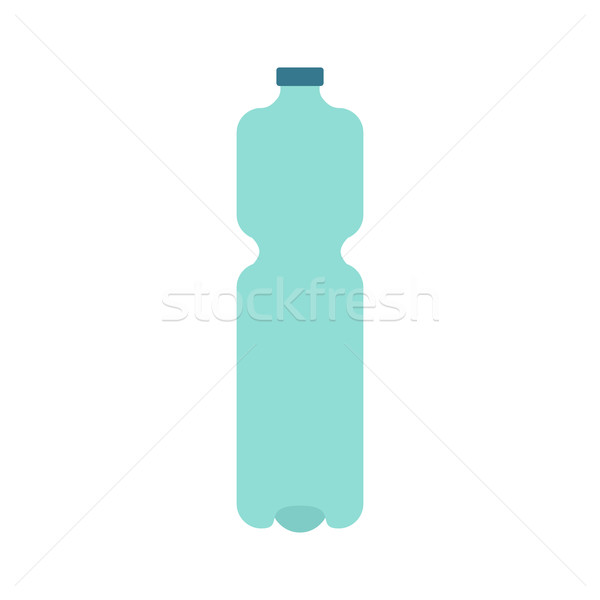 Plastic bottle isolated. Plastic container for water on white ba Stock photo © MaryValery