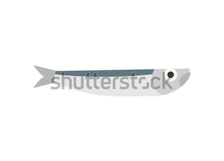 Geïsoleerd klein vis witte water voedsel Stockfoto © MaryValery