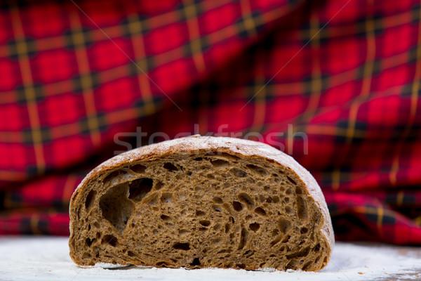Foto saboroso fresco pão pão maravilhoso Foto stock © Massonforstock