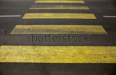 Crosswalk line Stock photo © Massonforstock