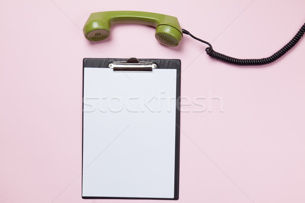 dial phone and business  Stock photo © Massonforstock