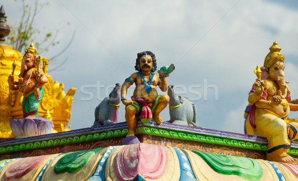 Indian goederen tempel Sri Lanka aanbidden bidden Stockfoto © Massonforstock