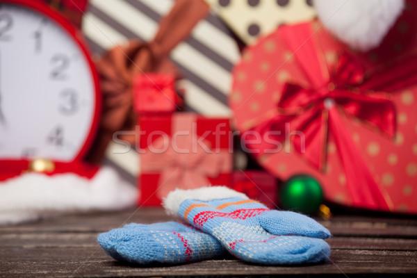 Foto stock: Foto · cute · caliente · guantes · maravilloso · Navidad