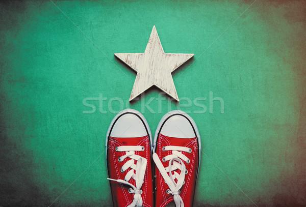ビッグ 赤 かわいい 星 おもちゃ ストックフォト © Massonforstock