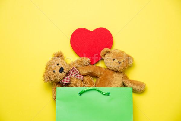 かわいい テディベア 中心 おもちゃ 美しい ストックフォト © Massonforstock