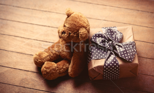 商业照片: 礼物 · 泰迪熊 · 美丽 · 可爱 · 精彩 · 棕色