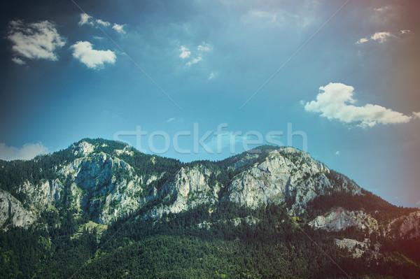 фото мнение красивой горные замечательный небе Сток-фото © Massonforstock