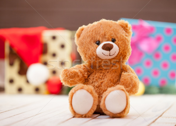 Stock photo: Little teddy bear
