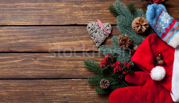 Christmas things Stock photo © Massonforstock