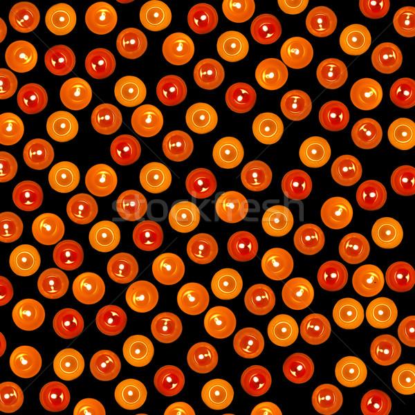 Hundred of candles for background. Stock photo © Massonforstock