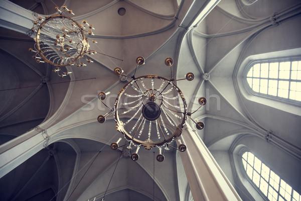 Church interior Stock photo © Massonforstock