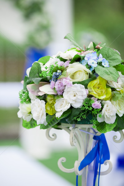Beautiful wedding flower arrangement  Stock photo © Massonforstock