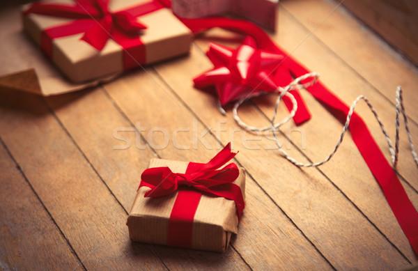 Cute regalos cosas maravilloso Foto stock © Massonforstock