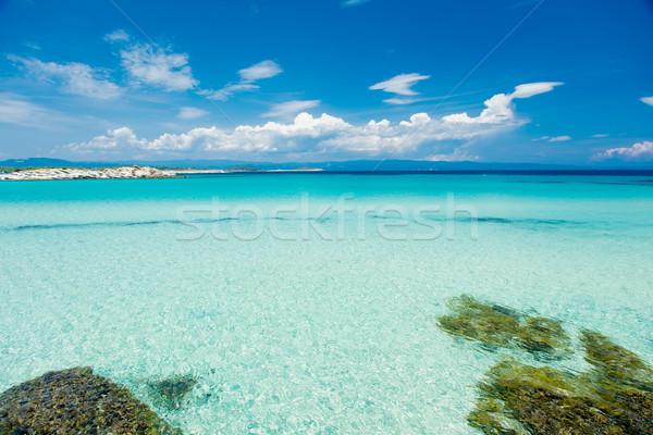фото красивой природы мнение морем острове Сток-фото © Massonforstock