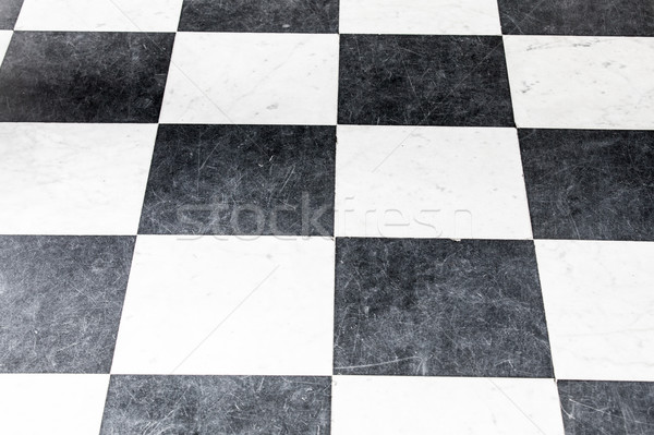 photo of beautiful black and white chess background Stock photo © Massonforstock