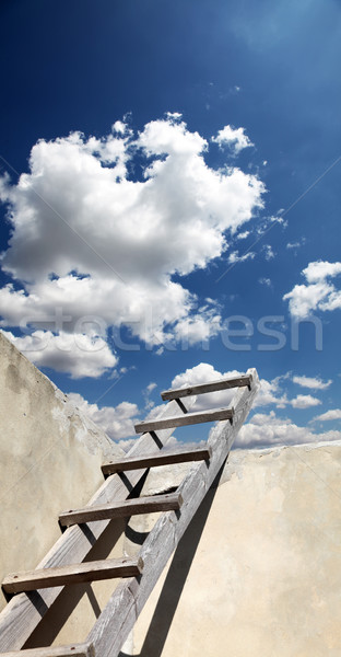 Stairs in sky  Stock photo © Massonforstock