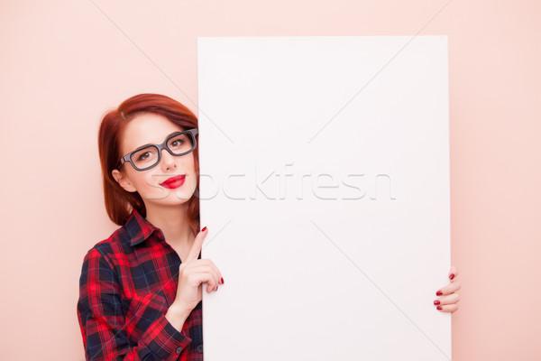 Hermosa grande vacío anunciante maravilloso Foto stock © Massonforstock