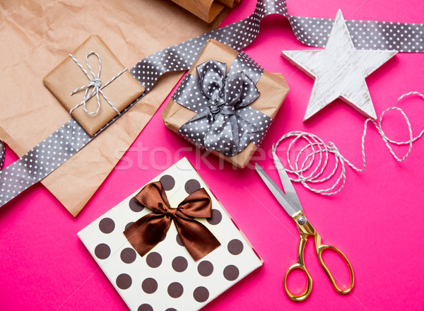 かわいい 贈り物 星 おもちゃ 物事 ストックフォト © Massonforstock