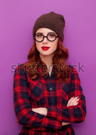 portrait of a young woman  Stock photo © Massonforstock