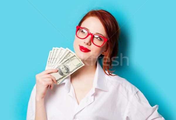 фото красивой деньги сантиметр замечательный Сток-фото © Massonforstock