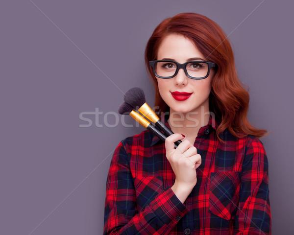 Make-up artist  Stock photo © Massonforstock