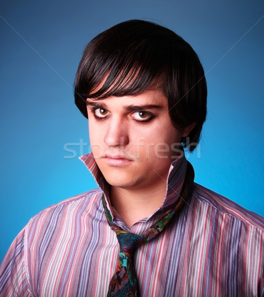 Emo boy Stock photo © Massonforstock