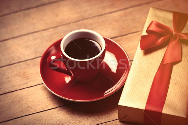 Foto stock: Foto · taza · café · cute · regalo · maravilloso