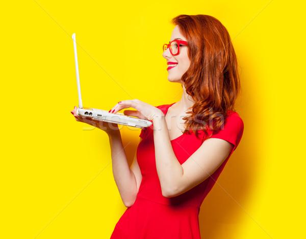 фото красивой ноутбука замечательный Сток-фото © Massonforstock