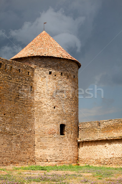 Ancient Akkerman fortress at Belgorod-Dnestrovsk y, near Odessa, Stock photo © Massonforstock