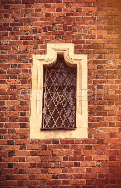 Сток-фото: фото · красивой · Vintage · старые · окна · Польша