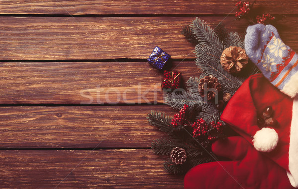 Little gifts and Christmas things  Stock photo © Massonforstock
