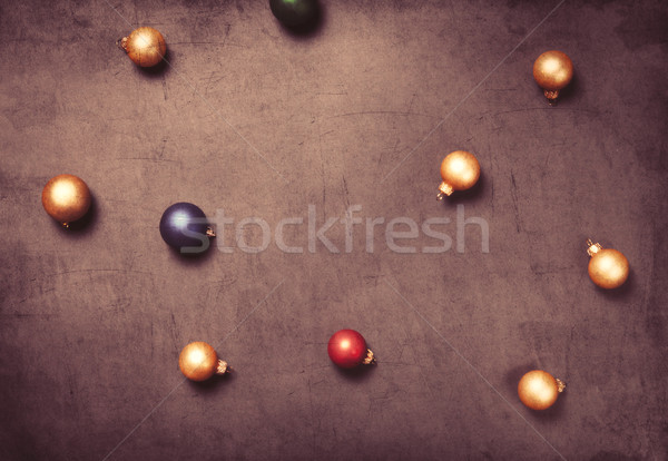 Christmas baubles  Stock photo © Massonforstock