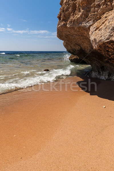 Panorama strand Egypte water abstract Stockfoto © master1305