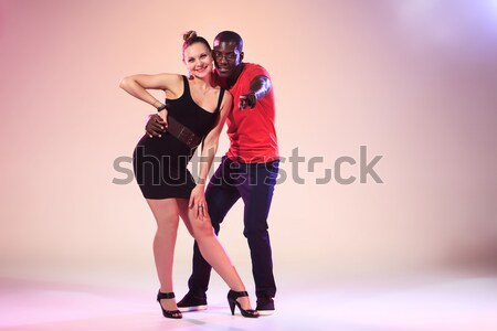 Sociale Caraïbes salsa Photo stock © master1305