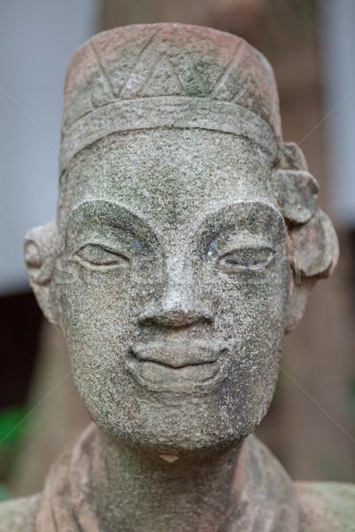 Moderna lujo hotel Tailandia jardín relajarse Foto stock © master1305