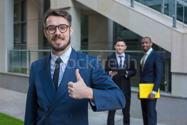 Portrait of business team Stock photo © master1305
