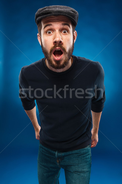 The anger and screaming man Stock photo © master1305