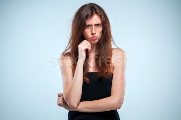 Portrait of sad girl close-up Stock photo © master1305