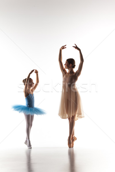 Photo stock: Peu · ballerine · danse · personnelles · ballet · enseignants