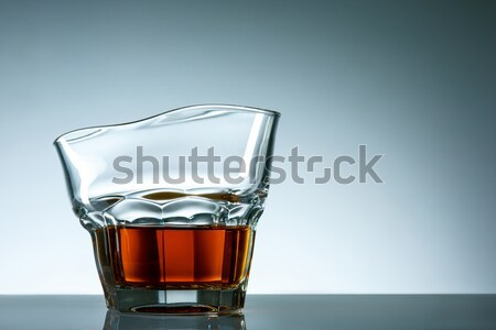 Glass of cola with ice cubes Stock photo © master1305