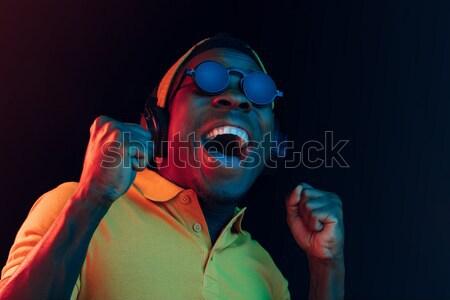 Schrecklich Clown Halloween crazy rot Shirt Stock foto © master1305
