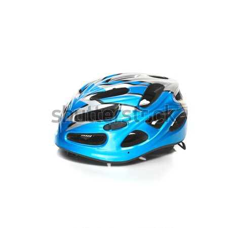 Bicycle mountain bike safety helmet isolated Stock photo © master1305