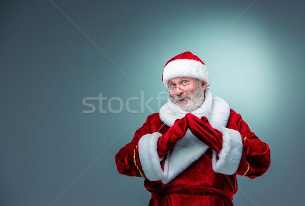 smiling Santa Claus. Stock photo © master1305