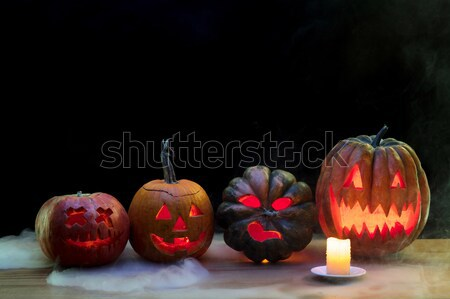 Happy Halloween pumpkin Stock photo © master1305