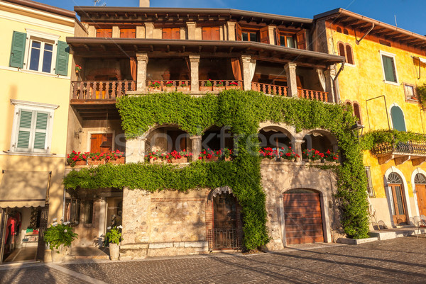 italian facade in  old city . Italy Stock photo © master1305