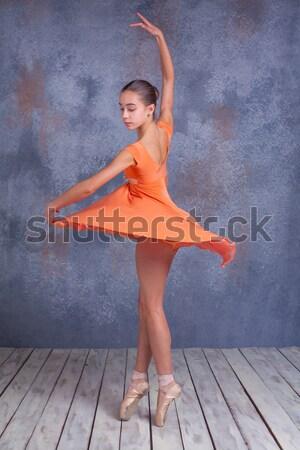 Mulheres dança hip hop saltando fitness verde Foto stock © master1305