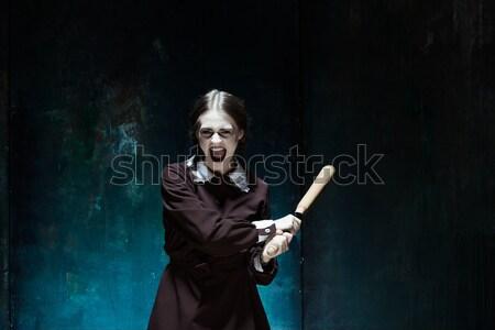 Retrato joven vampiro caída Foto stock © master1305