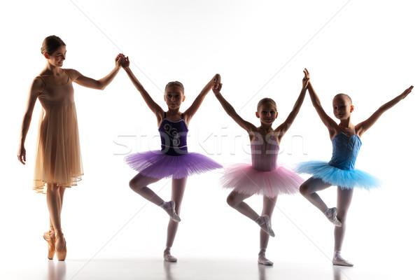 ストックフォト: 3 · ダンス · 個人 · バレエ · 教師