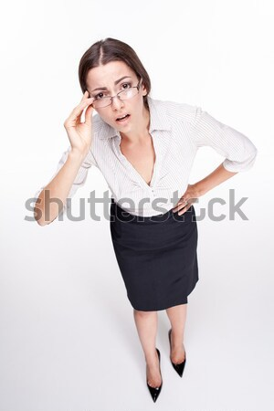 picture of a beautiful business woman Stock photo © master1305