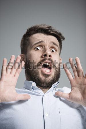 Close up face of desperate man  Stock photo © master1305